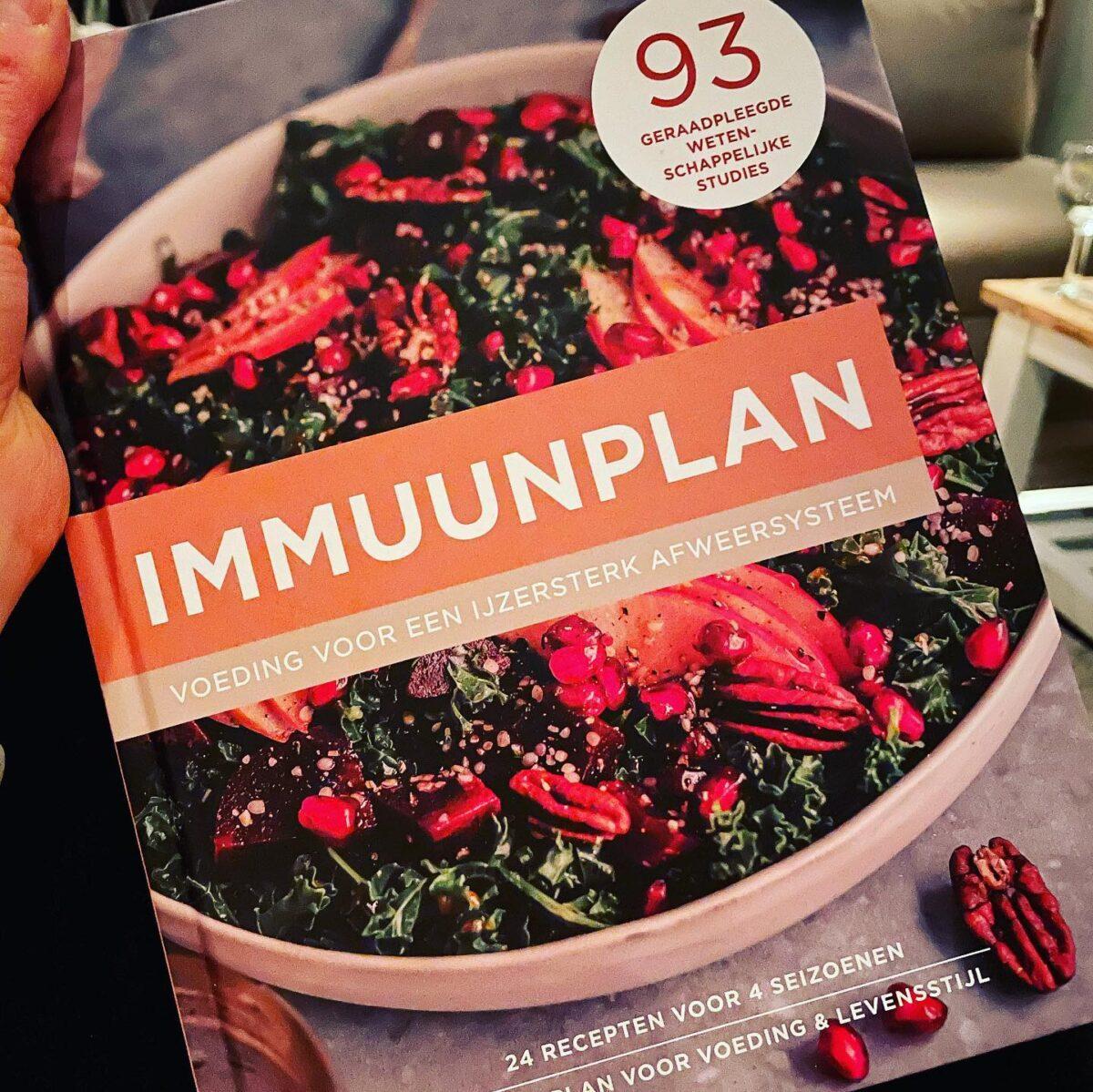 'Immuunplan' - Een boek geschreven door Patricia 👌